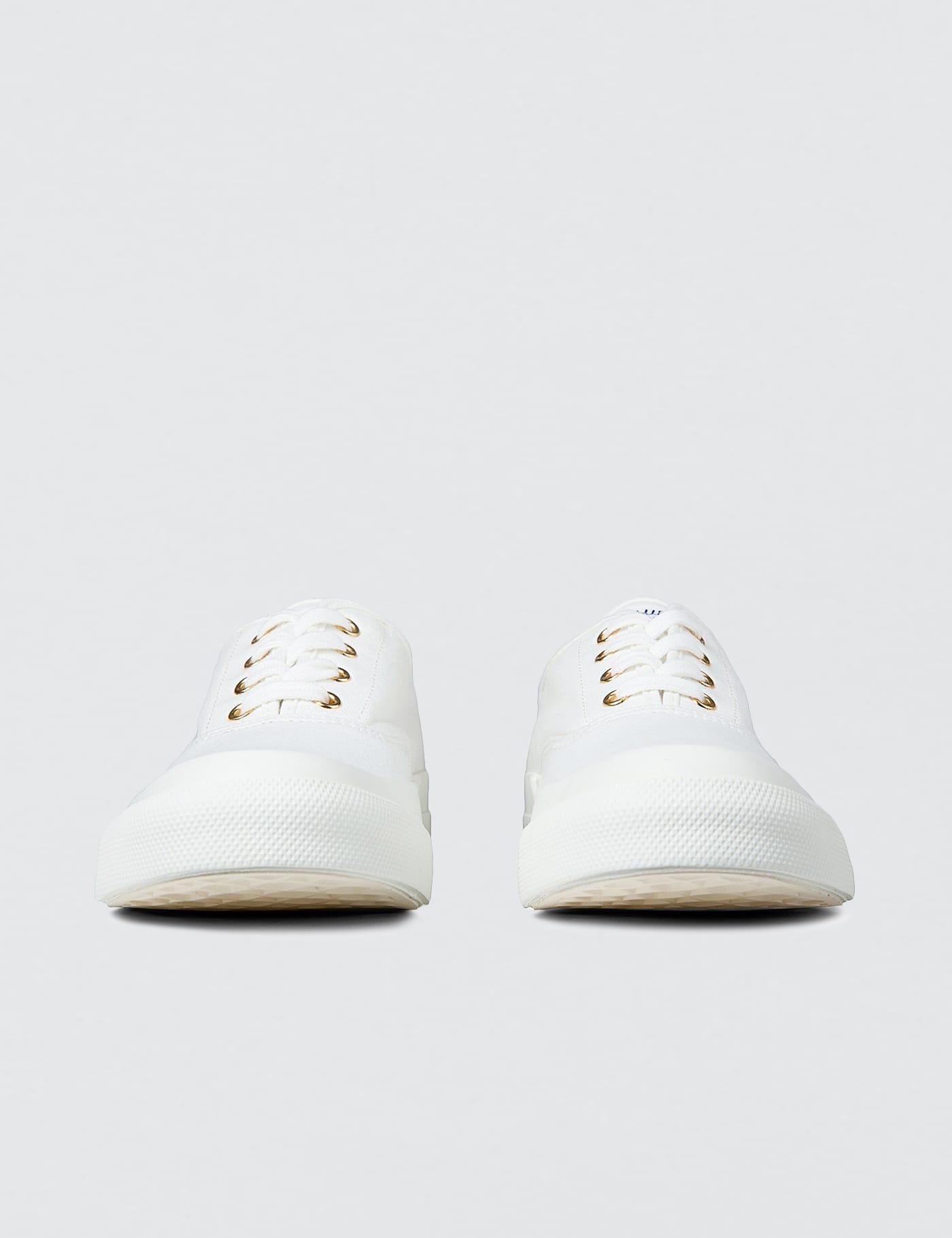Maison Kitsune Canvas Sneaker   HBX