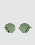 Super By Retrosuperfuture Cooper 3627 Green Sunglasses Picture