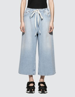 MM6 Maison Margiela Wide Leg Jeans