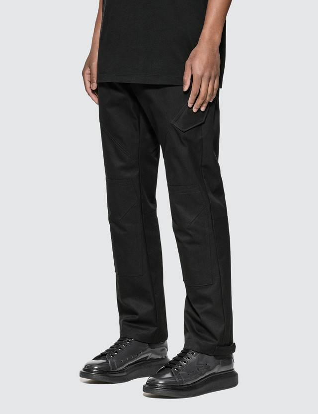 Marcelo Burlon Patch Twill Military Cargo Pants