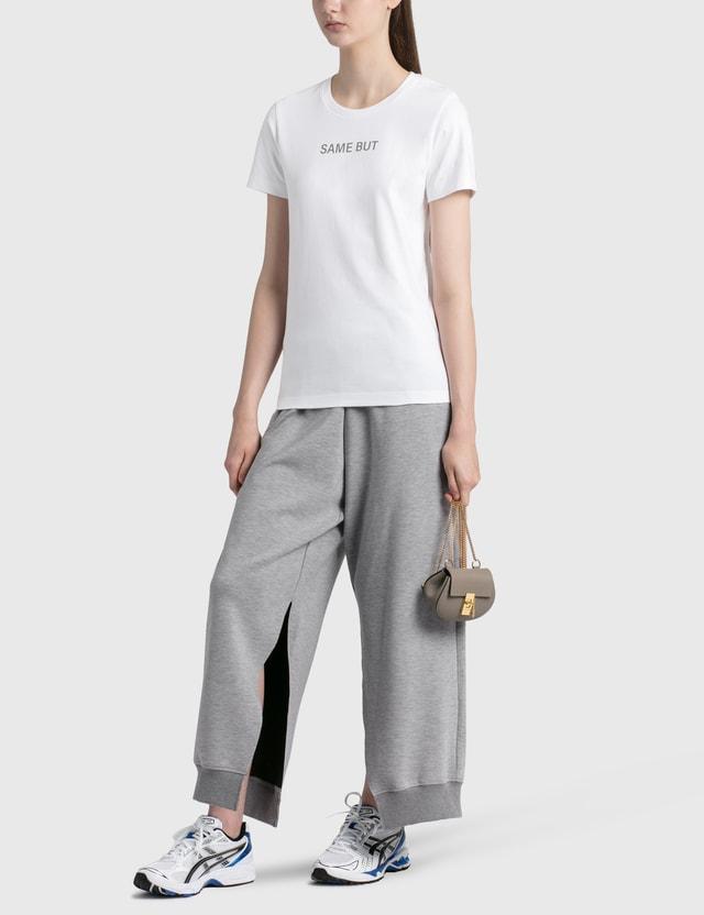 Chloé Mini Drew Cross Body Backpack Motty Grey Women