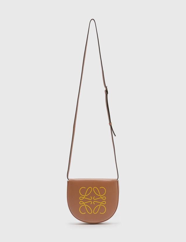 Loewe Heel Brand Bag Tan/ochre Women
