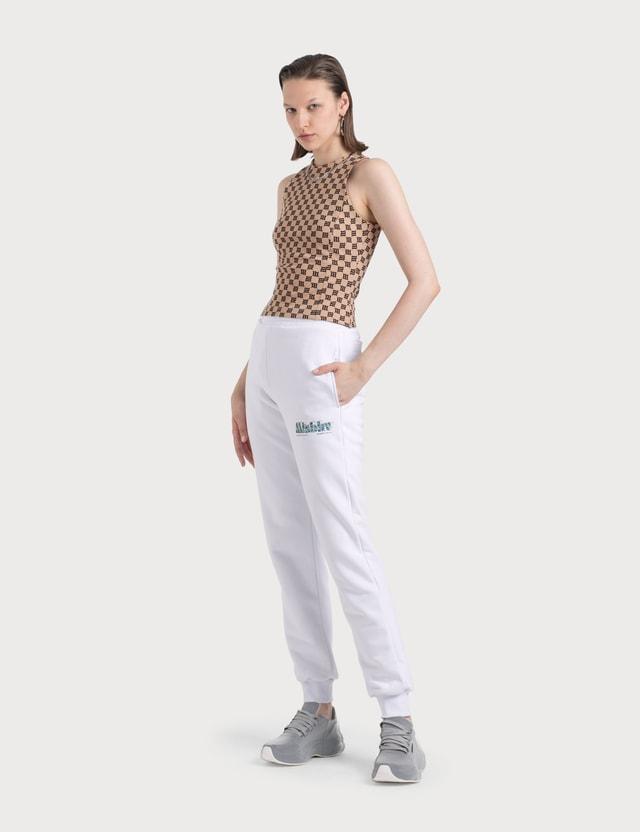 Misbhv The MBH Hotel & Spa Sweatpants White Women