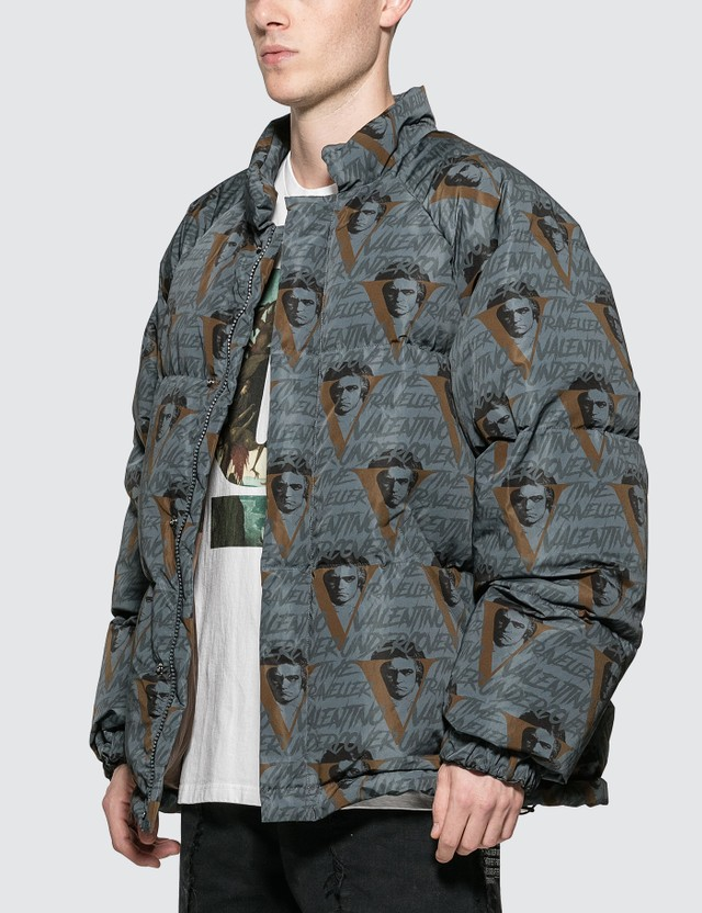 Undercover Valentino x Undercover Down Jacket With VVV Print