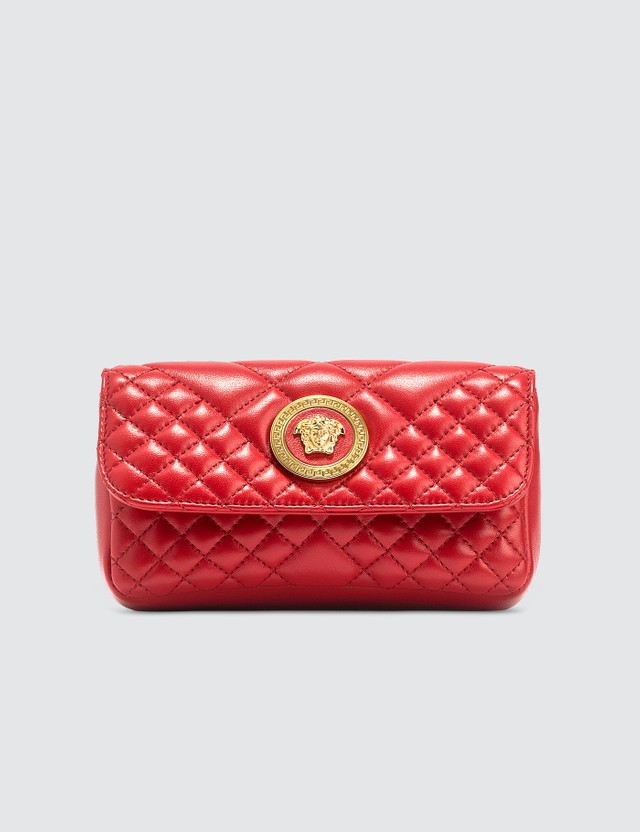 Versace Mini Quilted Cross Body Bag