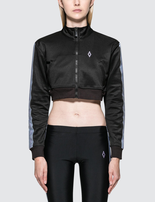 Marcelo Burlon Cross Tape Track Jacket