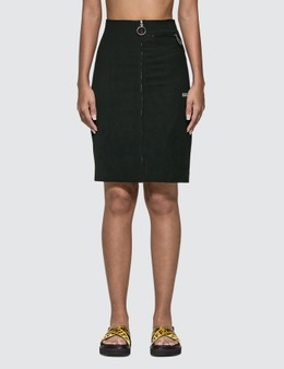 Off-White High Waist Pencil Skirt