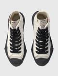 Maison Mihara Yasuhiro Original Sole Toe Cap Canvas Sneaker White Men