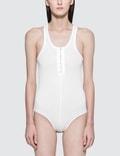 Alexander Wang.T Stretch Rib Bodysuit