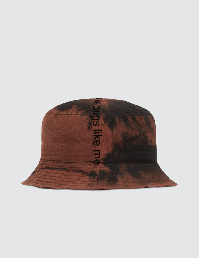"Fuck Art, Make Tees ""I Don't Like Drugs But Drugs Like Me"" Bucket Hat"