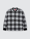 Supreme Plaid Henley Picture
