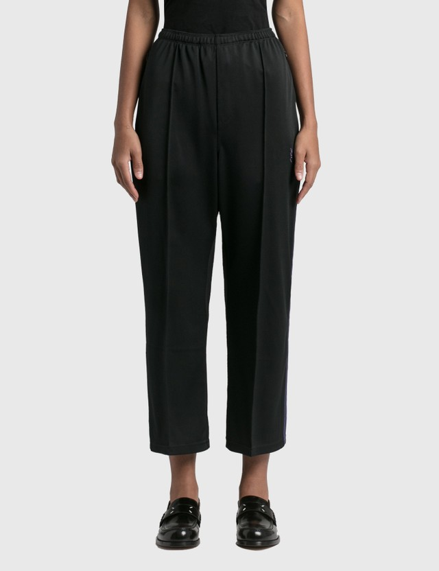 Needles S.L. Seam Pocket Pant - Bright Jersey Black Women