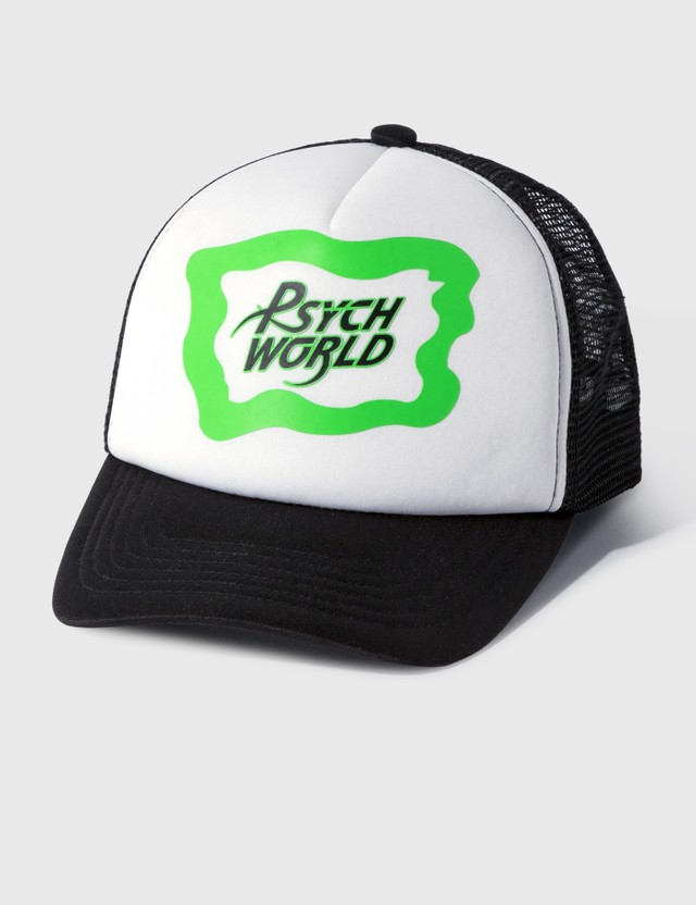 Icecream Icecream × Psychworld Mesh Cap White Men