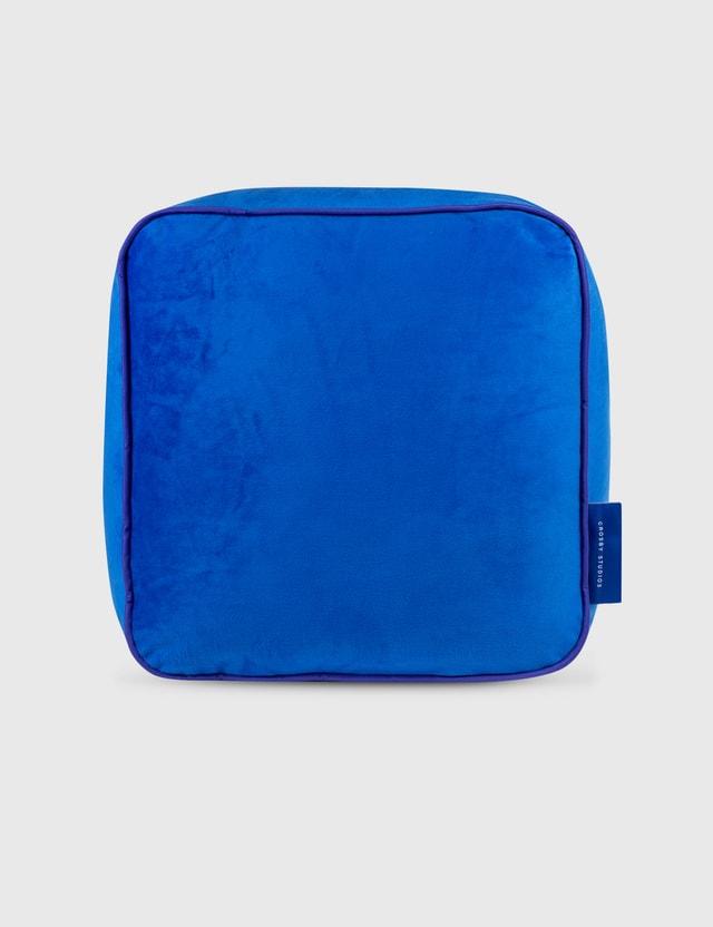 Crosby Studios Blue Velvet Pillow Blue Unisex