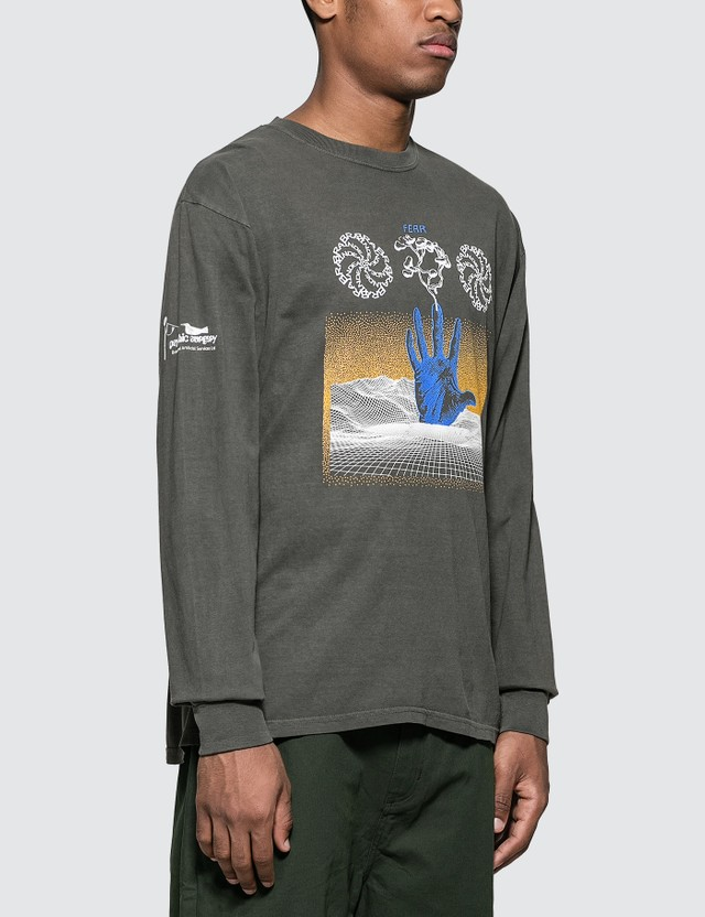 Brain Dead Chaos Long Sleeve T-Shirt