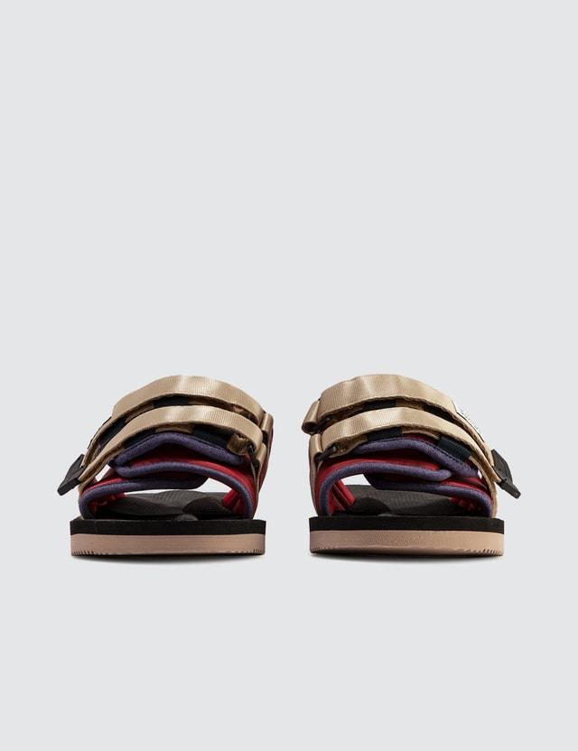 Suicoke MOTO-Cab Sandals Red/black Men