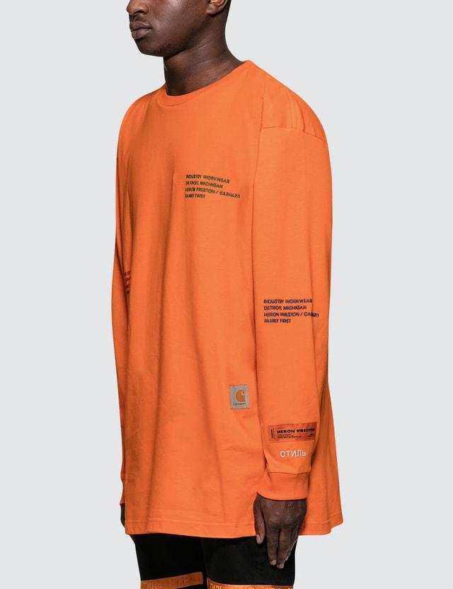 Heron Preston Heron Preston X Carhartt L/S T-Shirt