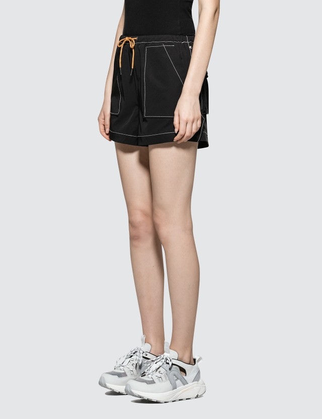 Ganni Cinnober Shorts Black Women