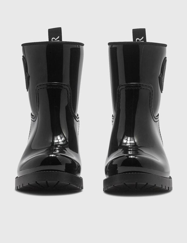 Moncler Ginette Rain Boots Black Women