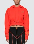 Heron Preston Fire Cropped Hoodie Picutre