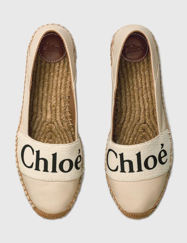 Chloé Woody Espadrilles White Women