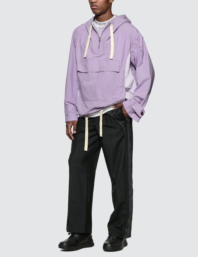 Acne Studios Pastel Purple Ophion Ripstop Anorak Jacket