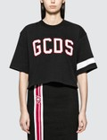 GCDS Logo Crop T-shirt Picture