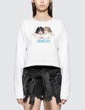 Fiorucci Angel Super Crop Sweatshirt Picture