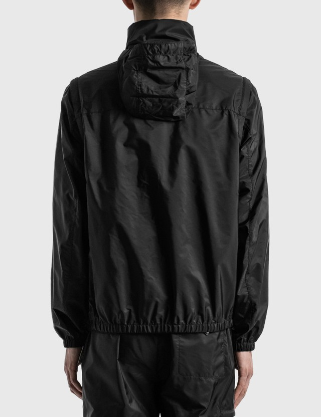Prada Nylon Track Jacket Nero Men