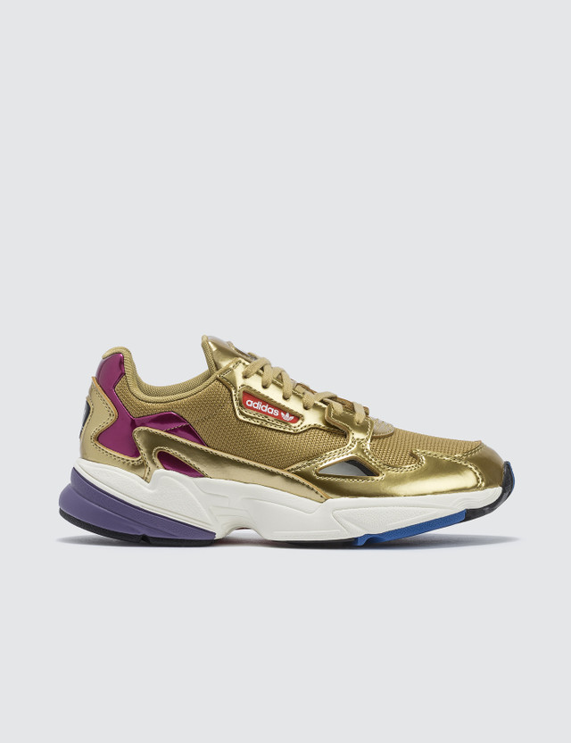 Adidas Originals Falcon W Gold Met./gold Met./off White Women