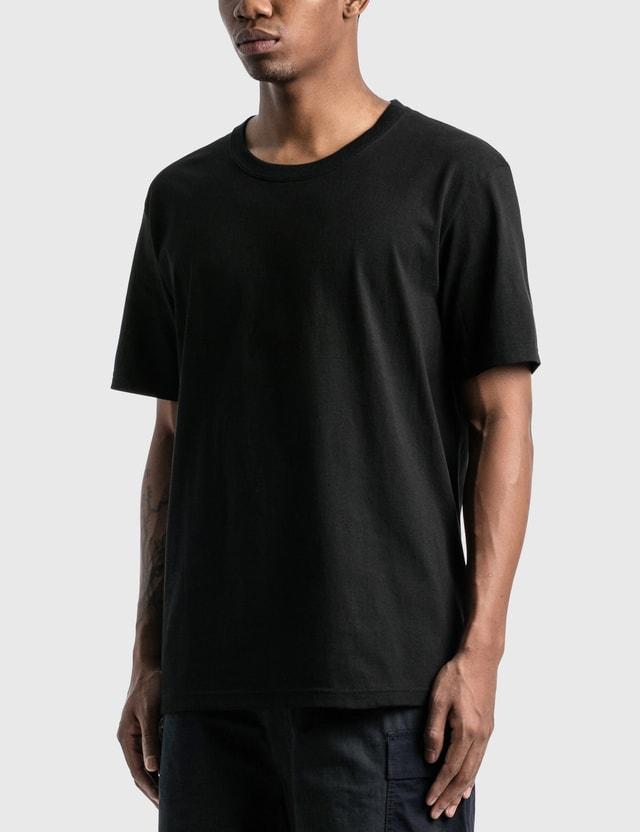 Wacko Maria USA Body Crew Neck T-Shirt (Type-1) Black Men