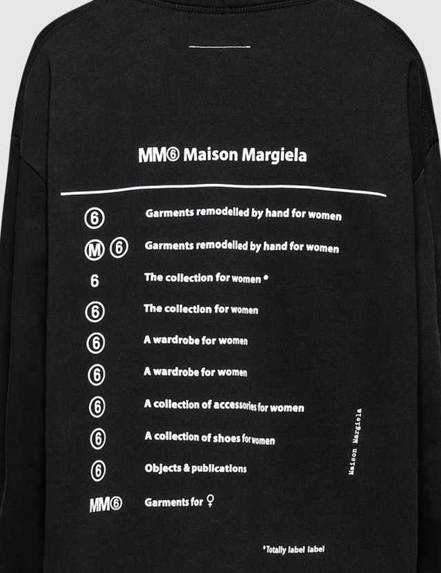 MM6 Maison Margiela Index Hoodie