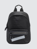 Lanvin Satin Nylon Logo Zipped Backpack Picture