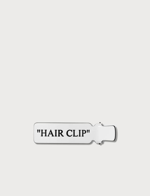 Off-White Hair Clip