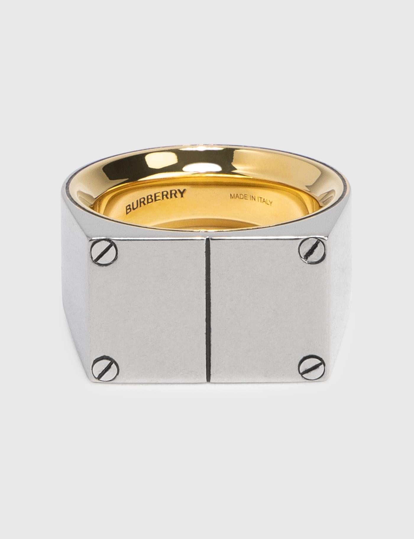 버버리 맨 올림피아 반지 Burberry Olympia Signet Ring