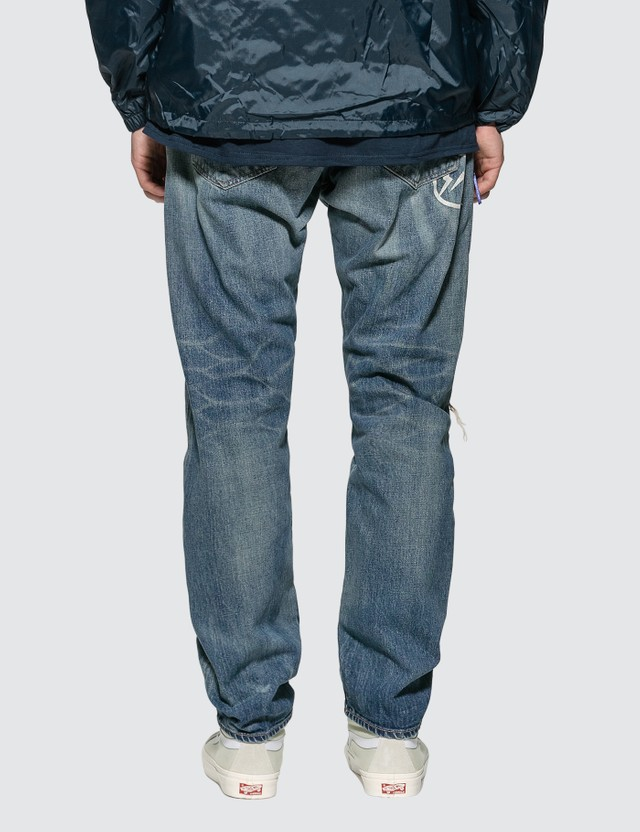 Denim By Vanquish & Fragment Three Years Used Wash Remake Wide Denim Jeans