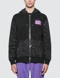SSS World Corp Alien Transmissions Universe Front Zip Sweater Picture