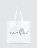 Maison Kitsune Lovebirds Tote Bag Picture