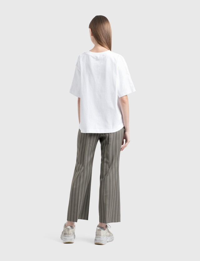 Acne Studios Flared Pinstripe Trousers