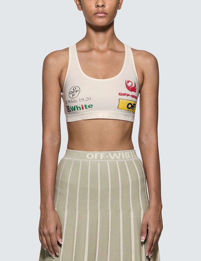 Off-White Multilogo Sporty Bra