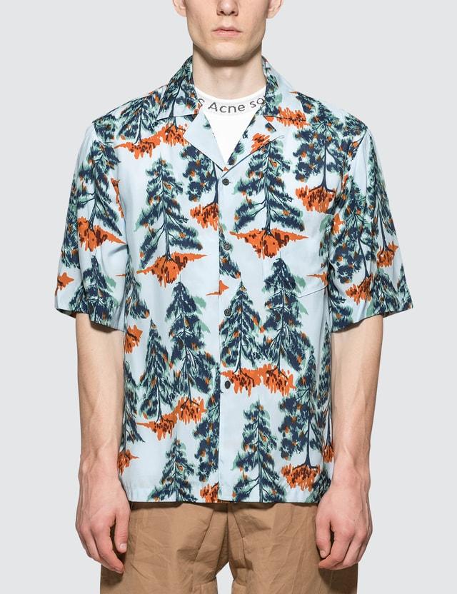 Acne Studios Simon Pine Flu V Shirt