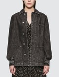 Ganni Washed Denim Jacket Picutre