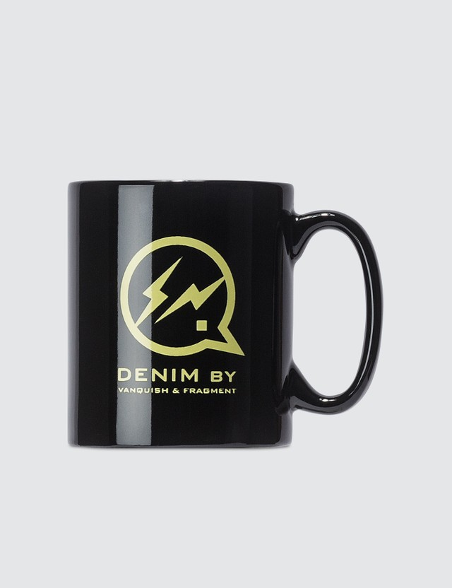 Denim By Vanquish & Fragment Yellow Icon Mug