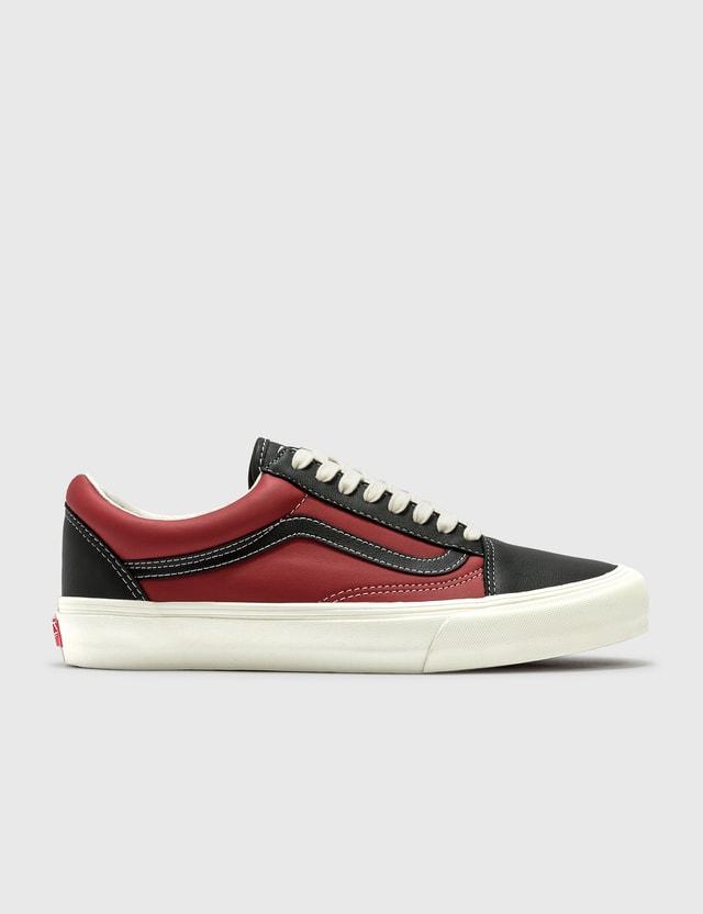 Vans Old Skool VLT LX (leather) Black/chilli Pepper Men
