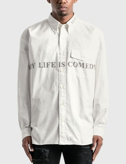 "Takahiromiyashita Thesoloist ""MY LIFE IS COMEDY"" B.D Shirt"