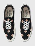 Maison Kitsune All Over Fox Head Laced Sneaker Black Men