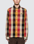 Human Made Hmmd Check Shirt Picture