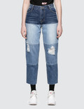 SJYP Multi Tone Jeans Picture