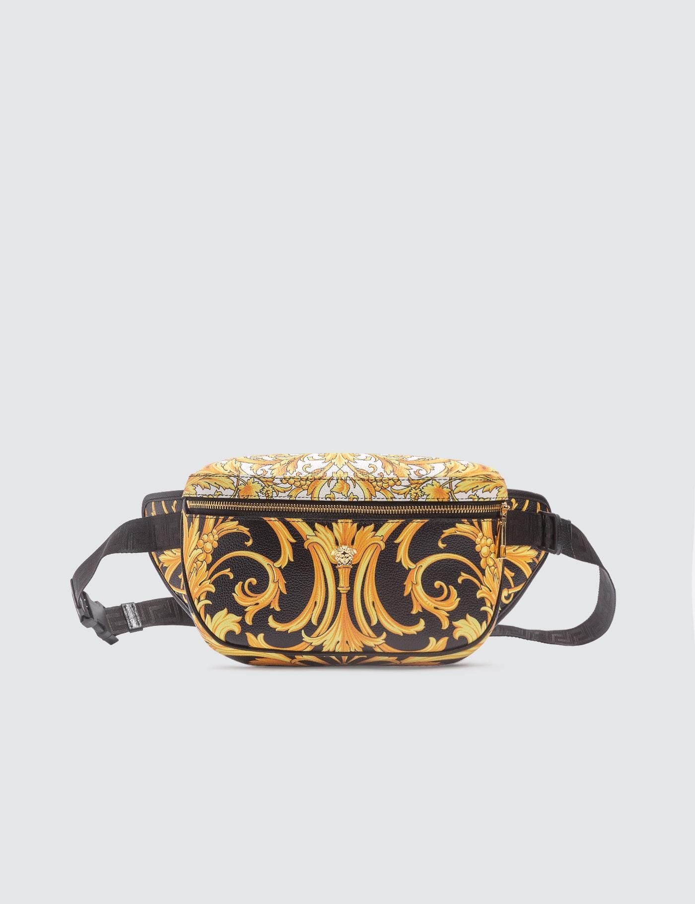 Le Pop Classique Print Leather Belt Bag