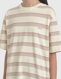 Stussy Harbour Stripe Crew T-Shirt
